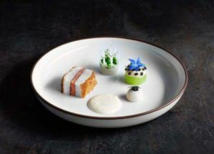 Thomas Borgans kveiterett i Global Chef Challenge.