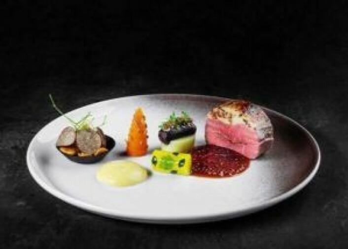 Thomas Borgans hovedrett i Global Chef Challenge.