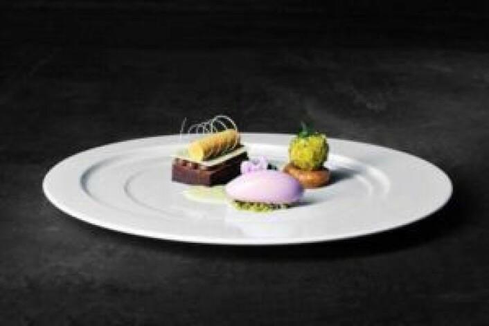 Thomas Borgans dessert i Global Chef Challenge.