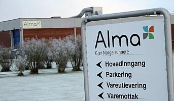 Alma Norge fusjonerer med Midsona Norge