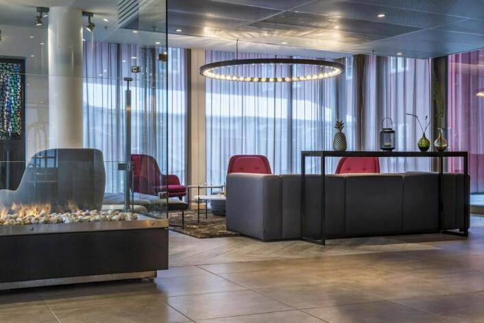 Energismarte løsninger hos Radisson Blu Hotel i Tromsø. (Foto: Rezidor)