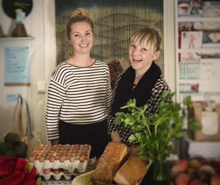 Gårdsbutikken Fat og Fe utenfor Sandefjord. (Foto: Marit Junge)