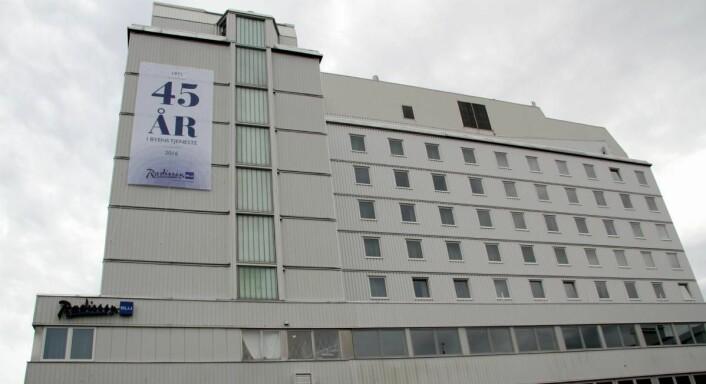 Hotellet i Tromsø feirer i år 45-årsjubileum. (Foto: Morten Holt)