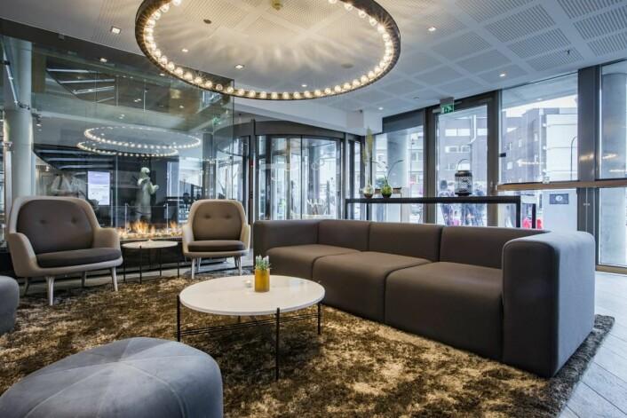 Radisson Blu Hotel i Tromsø har oppgradert store deler av hotellet. (Foto: Rezidor)