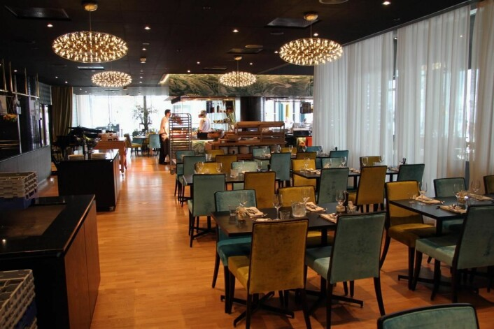 Etter at restauranten Paleo Arctic hadde åpning 1. januar etter renoveringen, har omsetningen i à la carte økt med over 50 prosent. (Foto: Morten Holt)