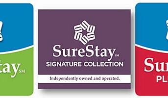 Best Western lanserer SureStay Hotels
