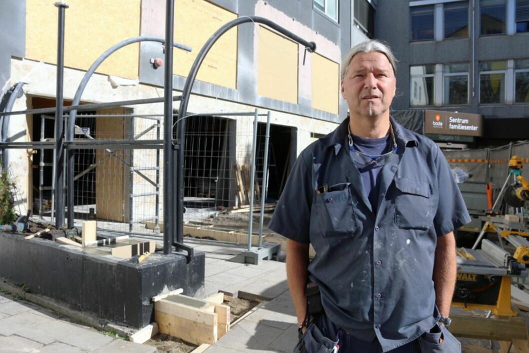 Kjetil O. Småge blir daglig leder for utelivssatsingen Hundholmen Brygghus & Gastropub, som åpner i Bodø i slutten av oktober. (Foto: Mariell Tverrå Løkås, Bodonu.no)