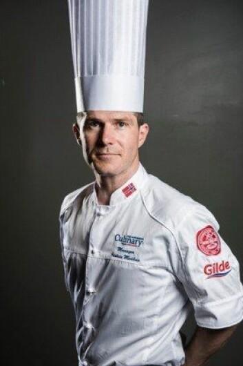 Jostein Medhus er manager for de to norske kokkelandslagene. (Foto: Fredrik Ringe)