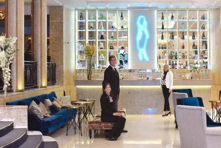 Mye hardt og målrettet arbeid fra vårtteam har blitt investert i relanseringen av Grand, sier hotelldirektør Fredrikke Næss (til høyre).