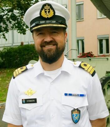 Pål H. Stenberg i Fagmyndighet Forpleining Forsvaret fikk i dag Matomsorgsprisen 2016. (Foto: Elisabeth Strøm)