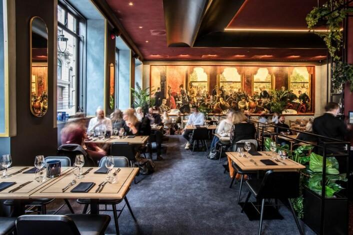 Nye Grand Café åpnes for publikum torsdag 20. oktober. (Foto: Grand Café)
