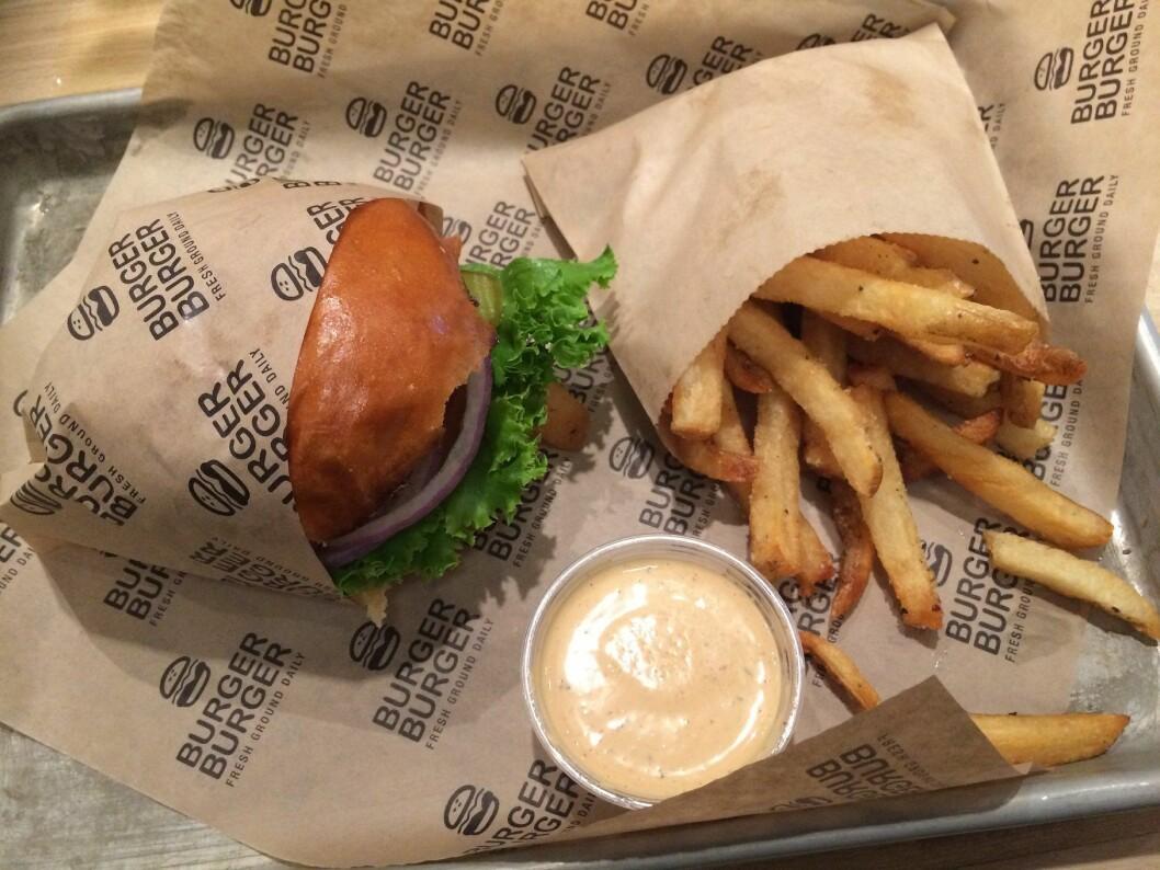 Burger på dagsorden på Smak 2017, der det også på blir NM i burger. (Illustrasjonsfoto: Morten Holt)