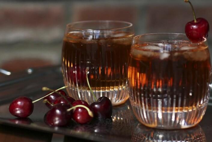 Cognac Tea Punch.