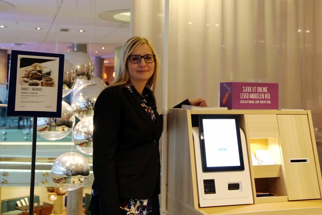 Hotelldirektør på Scandic Grensen og Scandic Karl Johan, Therese Fredriksson. (Foto: Scandic Hotels)
