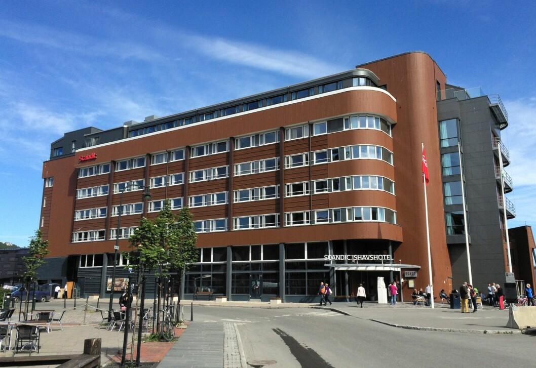 Scandic Ishavshotel i Tromsø. (Foto: Morten Holt)