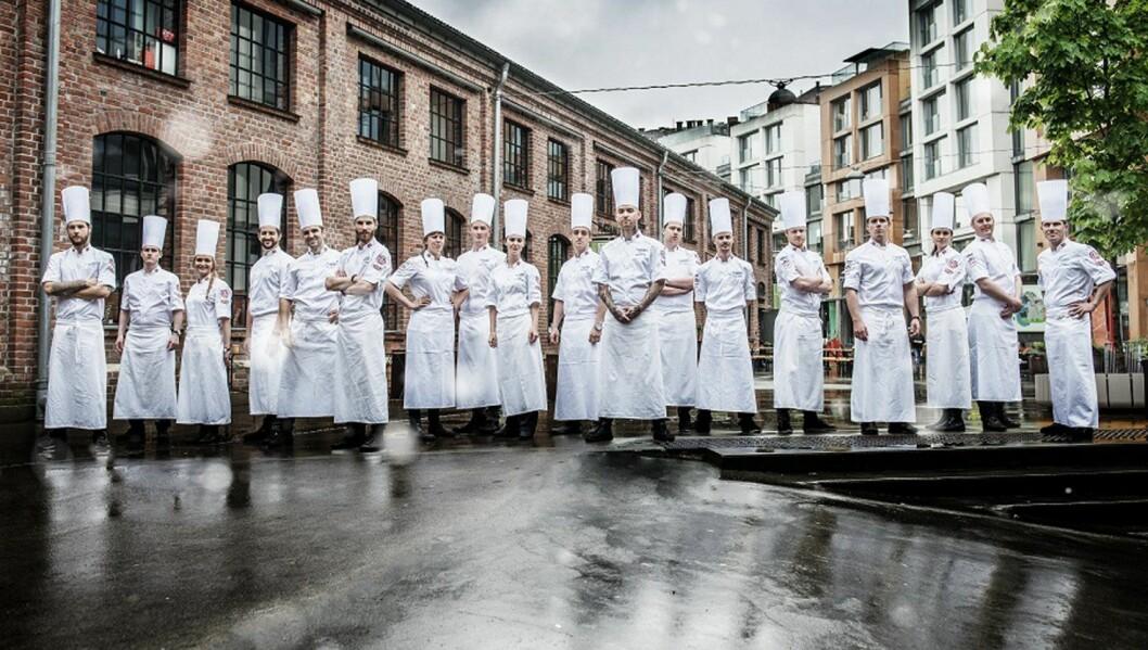 Det norske kokkelandslaget har tatt gull i både kald- og varmmat i OL i Erfurt. (Foto: Fredrik Ringe)