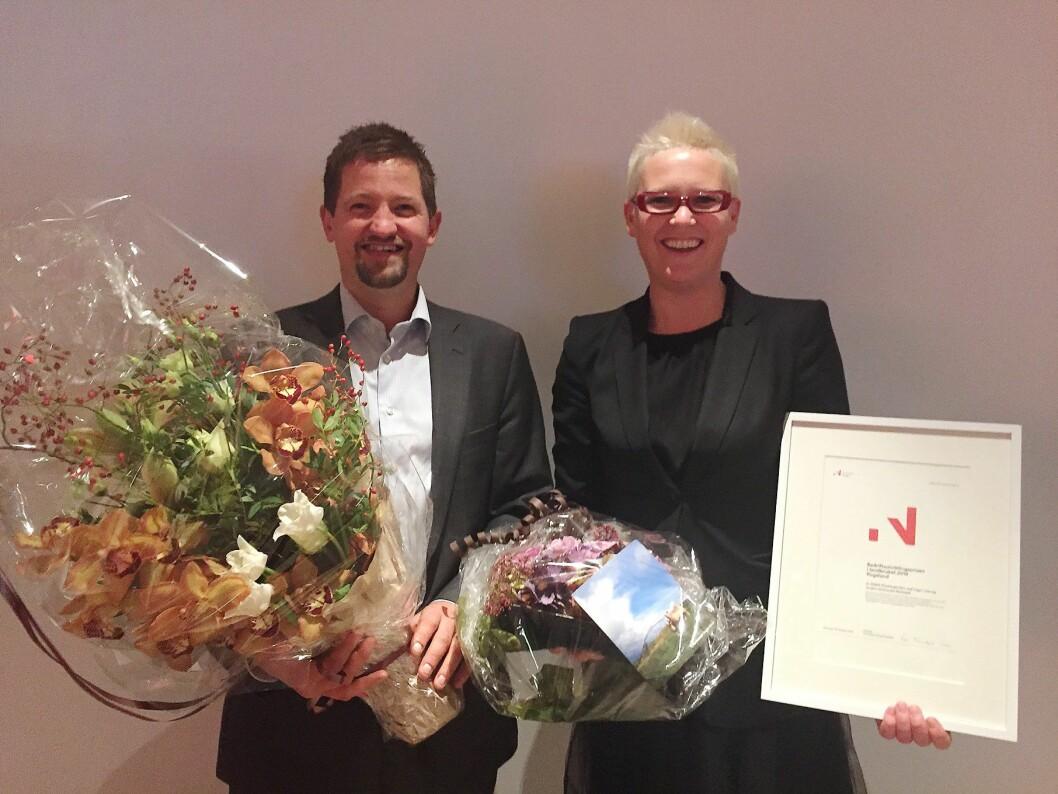 BU-prisen for 2016 i Rogaland har gått til Klostergarden, ved Inger Lise og Anders Schanche Rettedal.