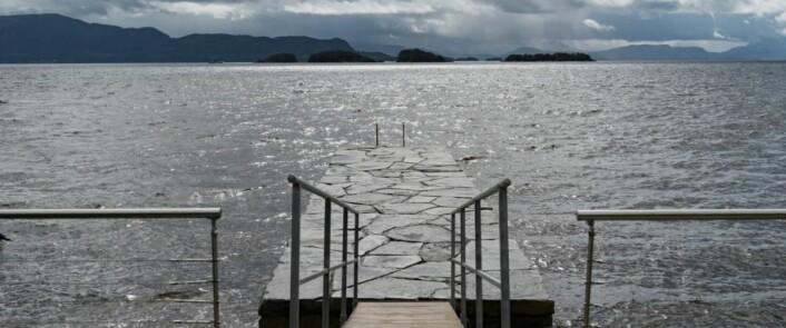 Spa i vannkanten. (Foto: Solstrand Hotel & Bad)