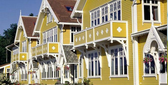 Solstrand Hotell & Bad. (Foto: De Historiske)
