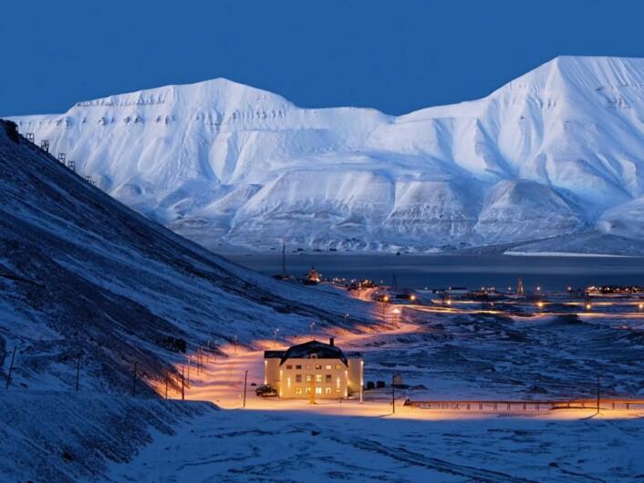 Huset i Longyearbyen er rangert som Norges 22. beste restaurant av White Guide Nordic. (Foto: Arkiv)