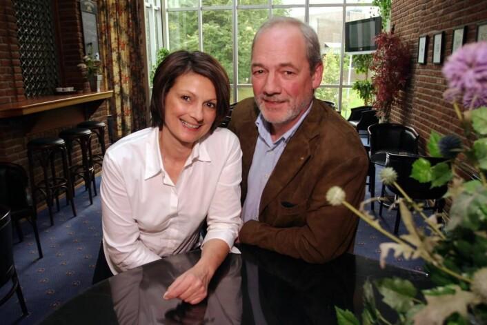 Bèatrice og Hans Christian van der Lagen har drevet Mitt Hotell siden slutten av 1980-tallet, men har nå solgt livsverket. (Foto: Morten Holt, arkiv)