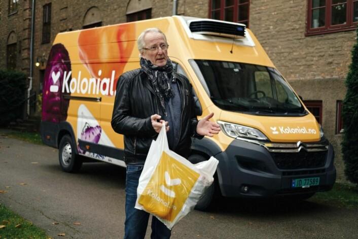 Eivind Hellstrøm skal i fremtiden inspirere Kolonial.no sine kunder til å lage bedre mat.