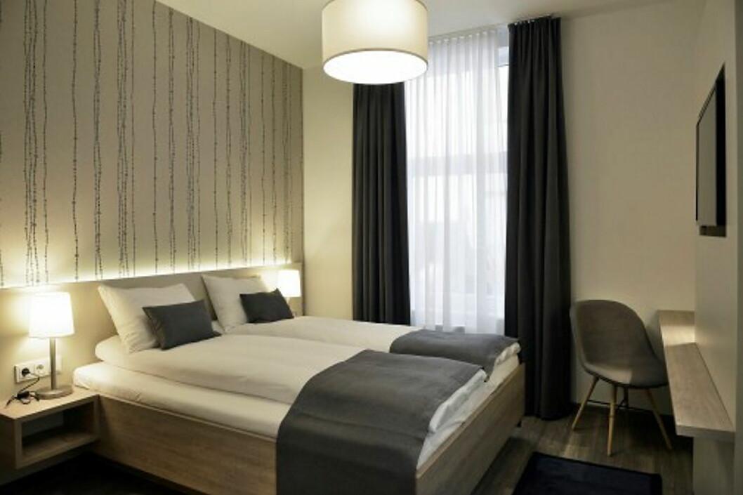 Fra ett av de renoverte rommene på Best Western Plus City Hotel i Oslo.