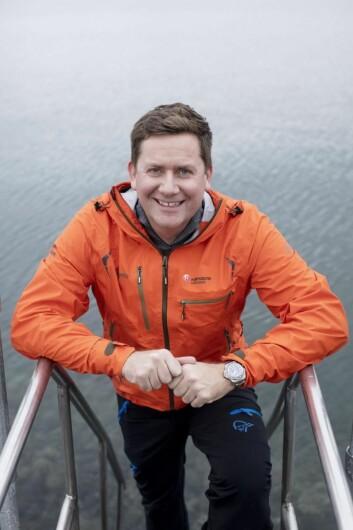 Konsernsjef for Hurtigruten, Daniel Skjeldam. (Foto: Hurtigruten)