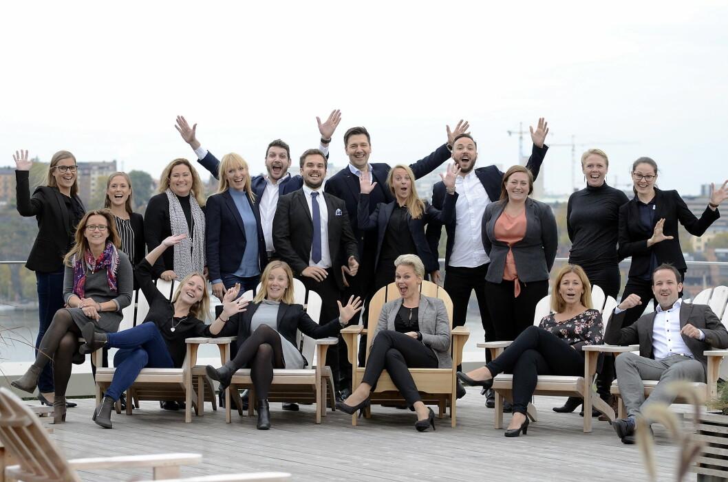 19 ledertalenter i Scandic Hotels deltar nå i lederutviklingsprogrammet Talent@Scandic.