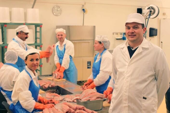 <em>Rakfisk- og osteprodusent Jørn Wangensten gleder seg til også å selge produktene sine i horeca.</em>