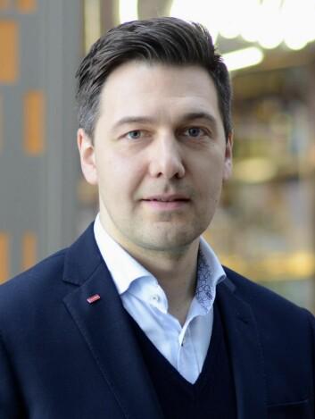 Jevgeni Mlinnikov, hotelldirektør på Scandic Kirkenes.