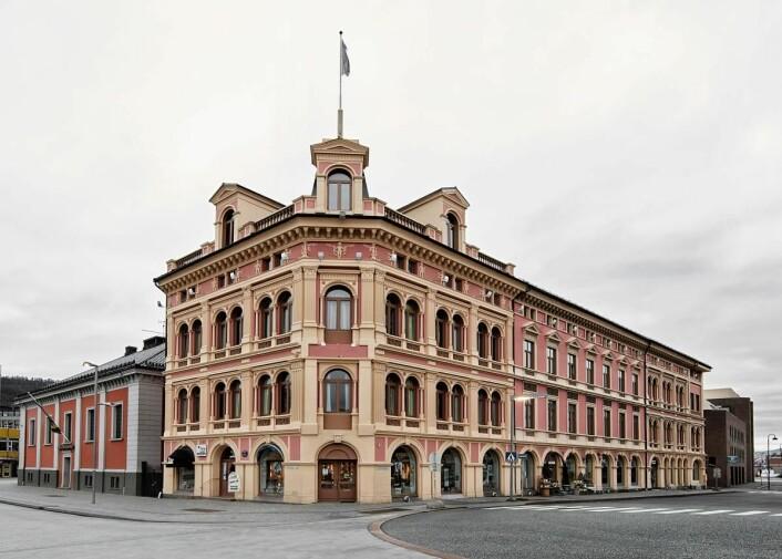 Ambassadeur Hotel, ett av de to hotellene i Drammen som blir Scandic-hotell fra 1. januar 2017.