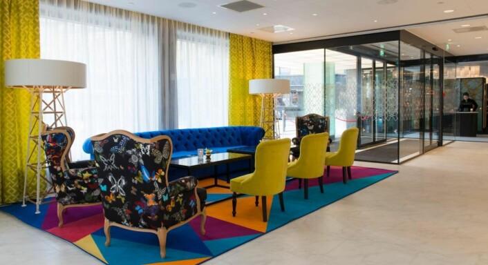 «Hotellet har et moderne og smakfullt design», skriver en gjest på Tripadvisor om nyoppussede Thon Hotel Rosenkrantz Oslo. (Foto: Thon Hotels)