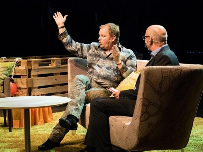 Turistsjef på Geilo, Pål Knutson Medhus, var én av de 12 som ble hedret. (Foto: Kristin Folsland Olsen)