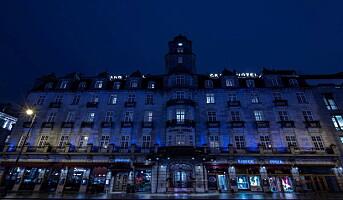 Grand Hotel i blått