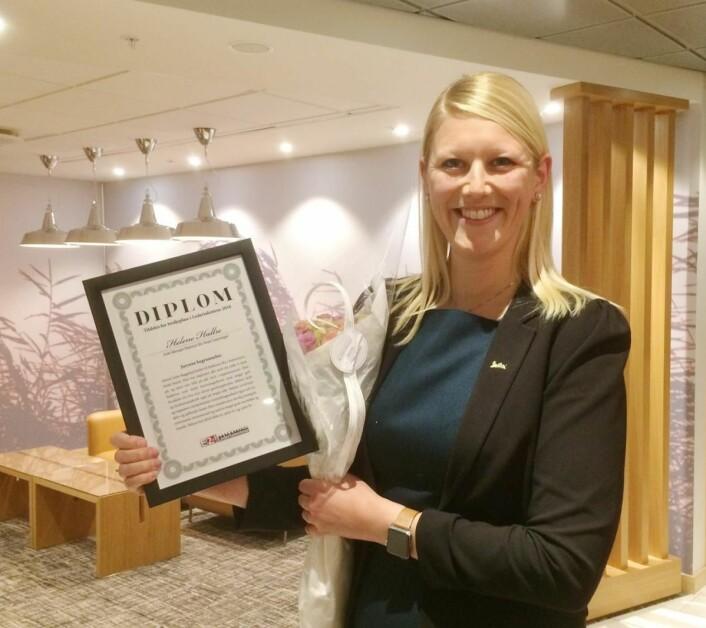 Helene Hallre har det siste snaue året vært hotellsjef på Radisson Blu Royal Hotel i København. (Foto: Morten Holt)
