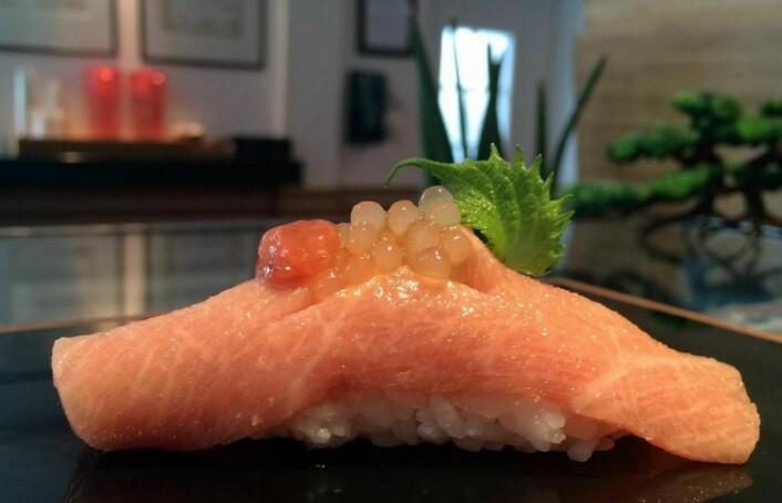 Sushi-restauranten Sabi Omakase i Stavanger er uten tvil årets restaurant-sensasjon i Norge. (Foto: Sabi Omakase)