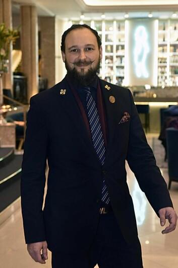 President i Norsk Hotell Portier Forening, Erik Skarsheim.
