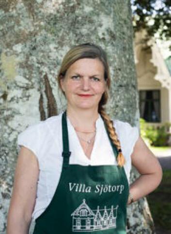 eier og driver av Villa Sjötorp, Ellika Mogenfelt.