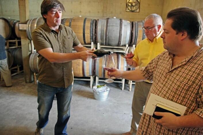 Vinregionen preges av små og mellomstore familiedrevne vingårder.
