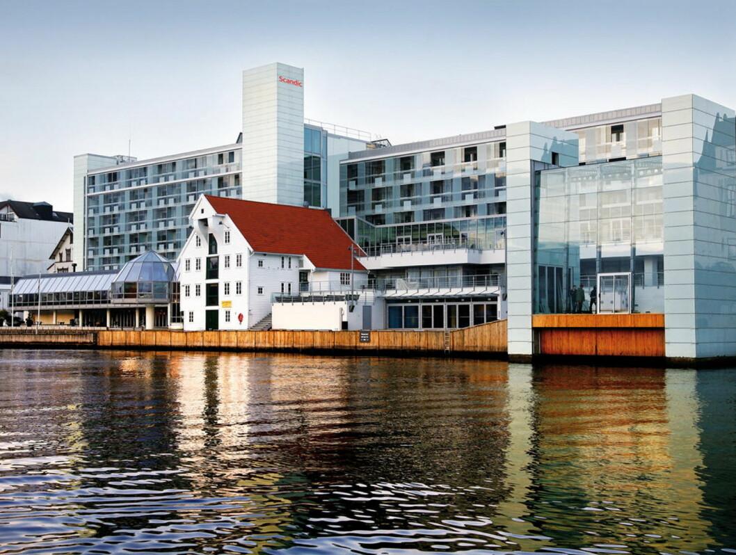 Scandic Maritim Hotel i Haugesund. (Foto: Scandic Hotels)