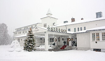 Vi feire julaften på hotellet