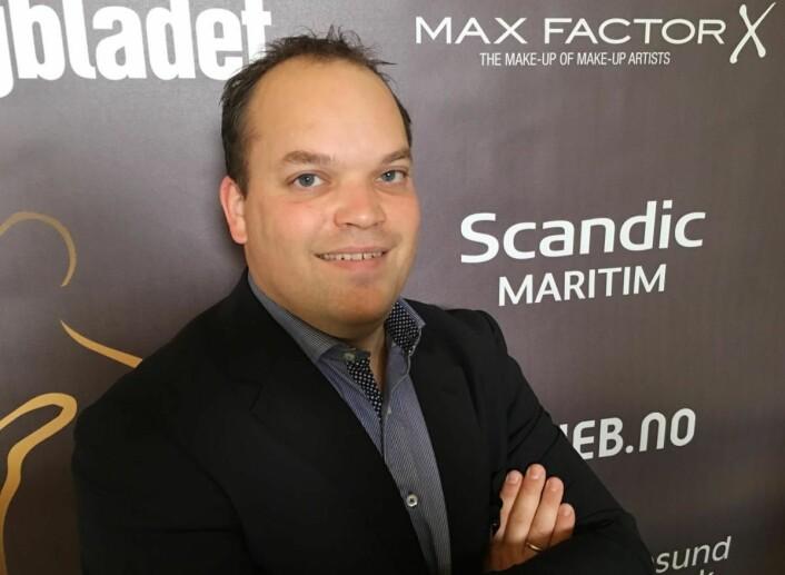 F&B-manager på Scandic Maritim Hotel, Aslak Askeland. (Foto: Scandic Maritim Hotel)
