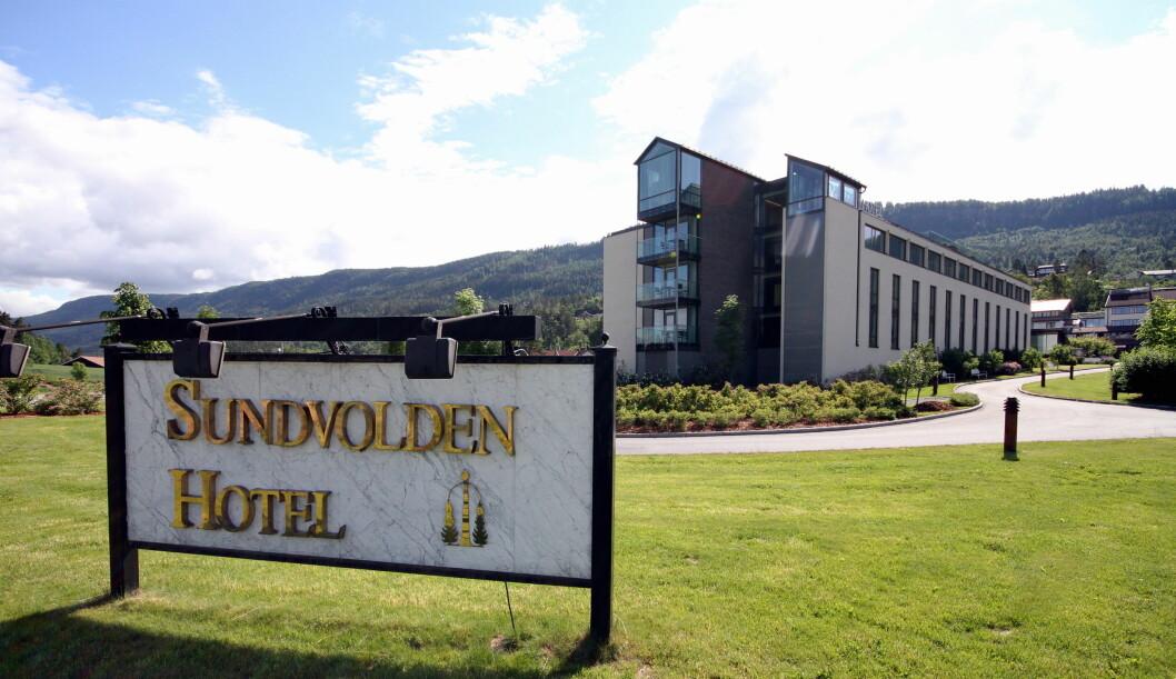 Sundvolden Hotel skal bygges ut for over 100 millioner kroner. (Foto: Arkiv)