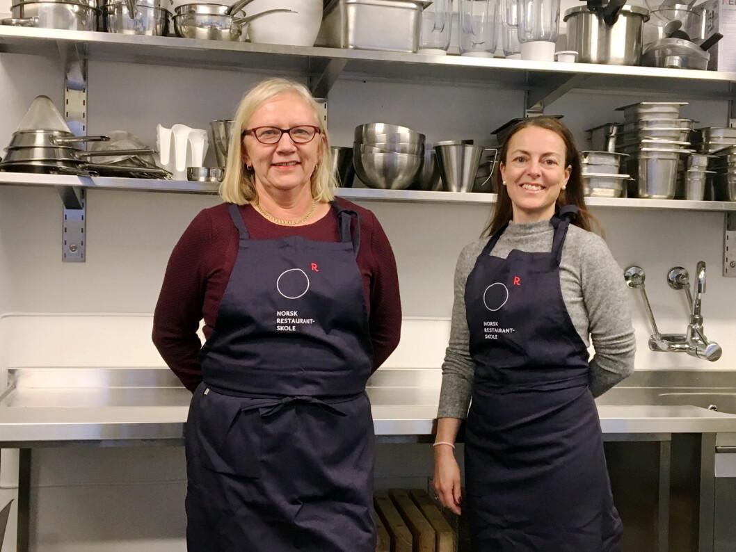 Laila Berge (til venstre) og Hege Arntzen. (Foto: NRS)