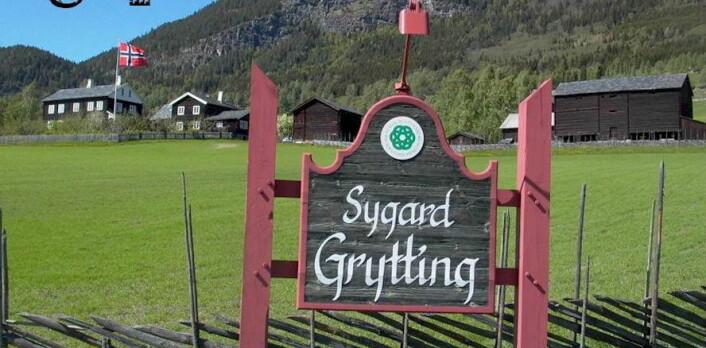 Sygard Grytting i Gudbrandsdalen er med i boka. (Foto: Sygard Grytting)
