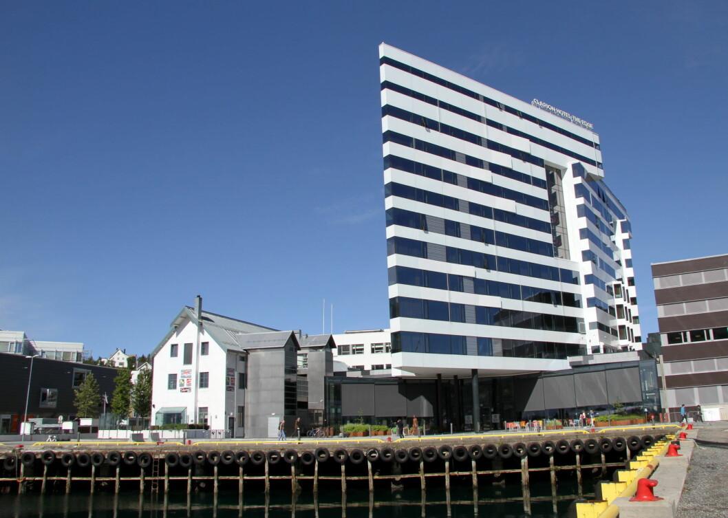 Clarion Hotel The Edge. (Foto: Morten Holt)