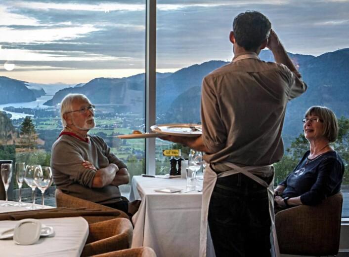 Fra The Bølgen & Moi Hotel Utsikten. (Foto: Marianne Ramstad Malone)