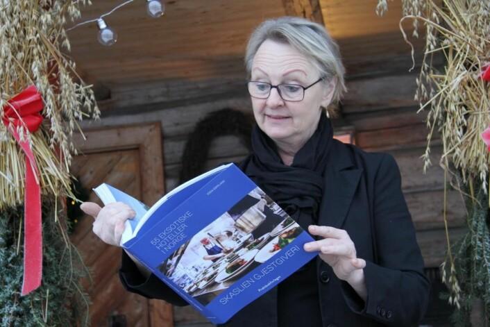 – Det er særdeles hyggelig å få være med i dette selskapet, sier daglig leder på Skaslien Gjestgiveri i Hedmark, Elin Skaslien. (Foto: Morten Holt)