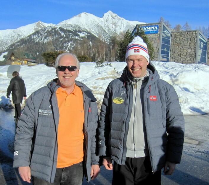 Atle Hovi og Bjørn B Jacobsen på studietur i Østerrike, der fjelldestinasjonene selv på 1200 meters høyde sliter med klimaendringene og milde vintre. Et faktum som vil slå positivt ut for Beitostølen, som klimaforskerne sier blir en av Europas mest snøsikre regioner i årene framover.